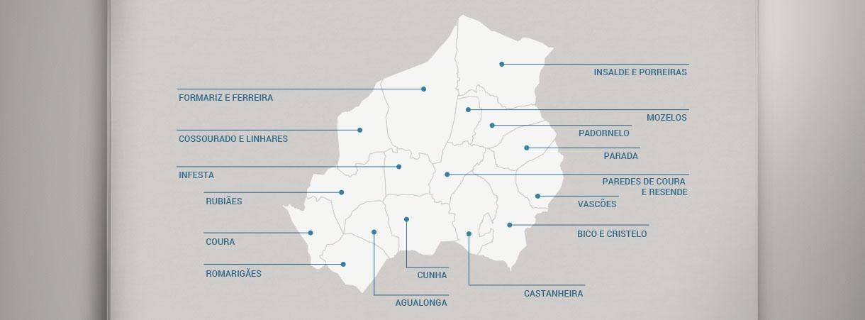 Freguesias Municipio De Paredes De Coura