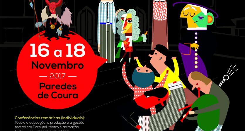 Cartaz: congresso a intervenção teatral em Portugal no séc. XXI