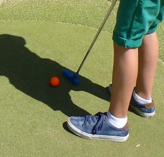 """Circuito de Mini Golfe """"Parque das Portas do Corno de Bico"""""""