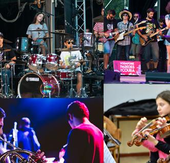 Escola do Rock e Classes de Conjunto do Ensino Articulado – Concerto