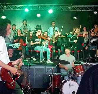 Escola do Rock e Academia de Música em residência