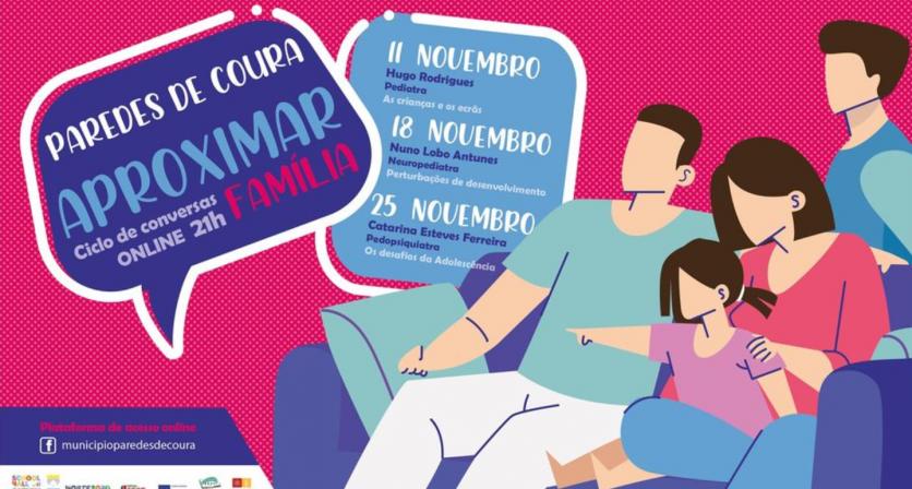 """""""APROXIMAR – Ciclo de Conversas Online"""""""