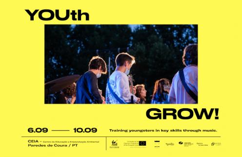 YOUth Grow reúne jovens de 3 países em Paredes de Coura